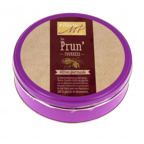 Pruneaux Fourrés à la Crème de Pruneaux Boîte Fer 400g
