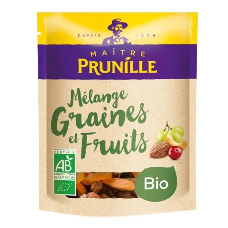 Mélange Graines et Fruits Bio Sachet 150g