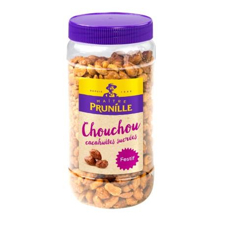 Chouchou (Cacahuètes Sucrées) Bocal 500g