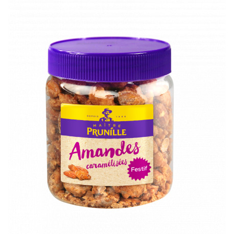 Amandes Caramélisées Bocal 250g