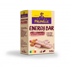 ENERGY BAR PÂTE D'AMANDE CRANBERRIES BOÎTE DE 5