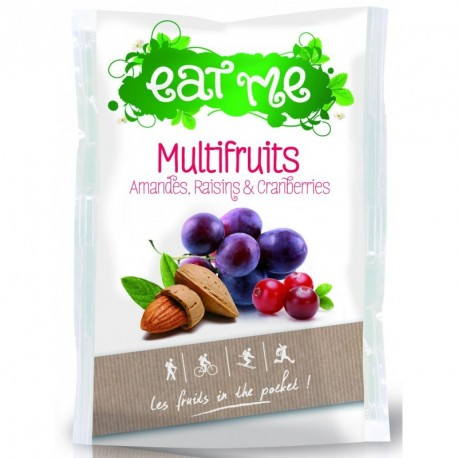Multi Fruits Raisins, Amandes et Cranberries Sachet 40g